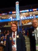 Bob Gibeling at the 2012 Democratic Convention