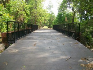 The Atlanta BeltLine will lease from the state this bridge and its out-of-service railway that cross Martin Luther King Jr. Drive.