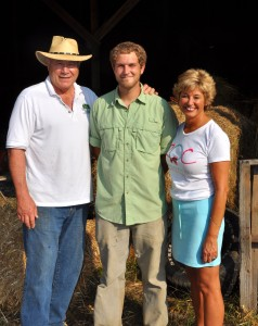 Family farmers - Doug and Rosetta Dillard, Seth Hancock