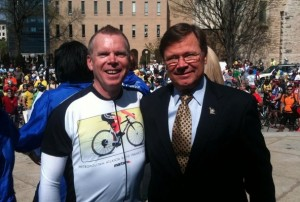 Jim Durrett with Vance Smith, March 22, 2011