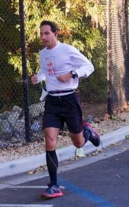 Eric Bumgartner in Athens Half-Marathon
