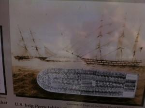 Photo of slave ship