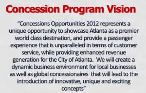Concession Program Vision, January 2011