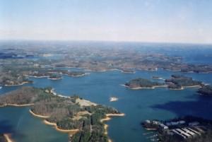 Scenic Lake Lanier