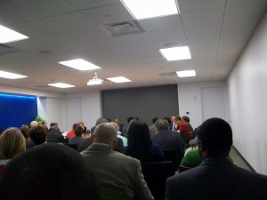 Invest Atlanta board meeting room