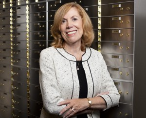 Photo of Judy Turner, president of Private Bank of Decatur