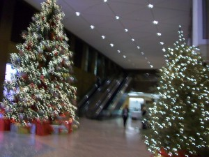 Georgia-Pacific Center, lobby
