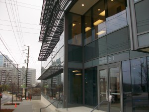 Commercial construction along the BeltLine includes this medical office building, on Peachtree Street near Piedmont Hospital. Credit: David Pendered