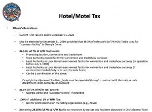 Atlanta's hotel:motel tax