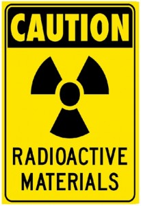 Caution-Radioactive materials