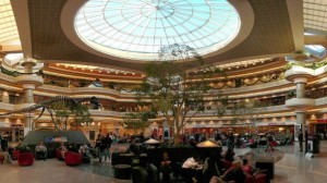 The FAA is continuing its investigation into the process by which vendors were chosen to operate restaurants and shops in Atlanta's airport, including high-profile locations in the atrium. Credit: visitingdc.com