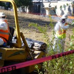 Photo of cleanup of the Zonolite site in 2011. Credit: Kevin Eichinger, U.S. Environmental Protection Agency