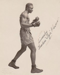 "World middleweight boxing champion Theodore ""Tiger"" Flowers resided in Atlanta during his professional boxing career, from 1920-1926. Credit: fighttoys.com"