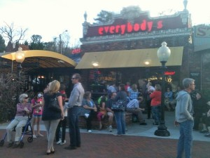 Photo of Everybody's pizza in Druid Hills before it closed March 19.