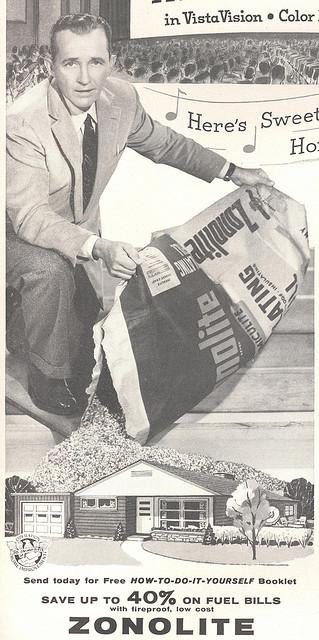 Photo of old Zonolite advertisement