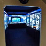 """Photo of an interactive exhibit, """"Destination (Space) Station,"""" at the Fernbank Science Center until May 18. NASA uses this exhibit to promote space travel and science learning."""