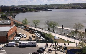The Anacostia Riverwalk, in Washington, was built with assistance from the same program that now will be working with the stadium neighborhoods and others in Atlanta's Proctor Creek basin. Credit: jdland.com
