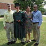 Photo of Ryan Boyle's graduation from Blessed Trinity High School in Roswell.
