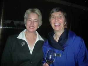 Houston Mayor Annise Parker with civic leader Ann Cramer (Photos: Maria Saporta)