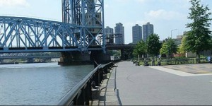 The Harlem River Park is an example of the type of recreational amenity the Urban Waters Partnership Program intends to provide along the Harlem River in New York City. Credit: harlemcdc.org