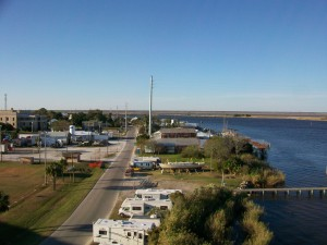 A bill pending in the Georgia General Assembly would affect the amount of water passing the waterfront of Apalachicola, Fla., which still serves more watermen than tourists. File/Credit: David Pendered