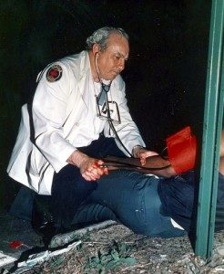 Atlanta's Fire Station No. 28 was dedicated to Arthur Kaplan, who died in 2010 after a career as a judge in Atlanta municipal court and an EMS volunteer who trained thousands of police officers in rescue techniques. Credit: Kaplan family