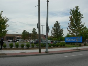 New Walmart  on Martin Luther King Jr. Drive