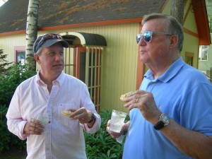 Dave Cieslewicz and Dick Fleming