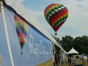 """""""RayDay"""" at Serenbe with Hot Air balloons (Photo: Maria Saporta)"""