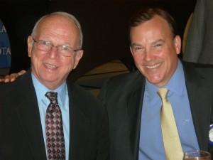 Phil Mooney and Clyde Tuggle at Atlanta Rotary (Photos by Maria Saporta)