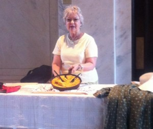 "Photo of Millie Coleman at ""Cornbread through the Ages."""