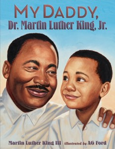 Book cover of Martin Luther King III's new book: My Daddy