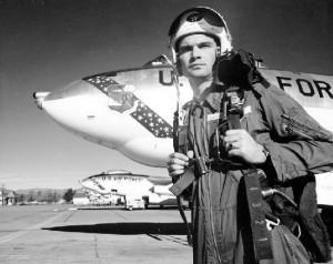Pilot with B-47