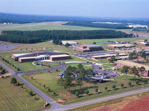 Souther Field, where Charles Lindbergh learned to fly, is now the site of South Georgia Technical College.