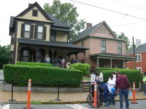 Martin Luther King Jr.'s birth home on Auburn Avenue