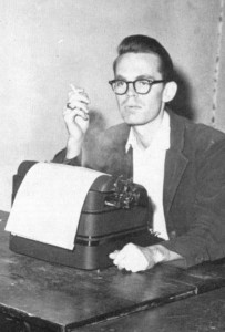 Bill Shipp when he was editor at the Red and Black