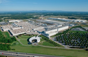 The BMW plant in Greenville, S.C. contributes to that region's strength in exports. Credit: theautochannel.com
