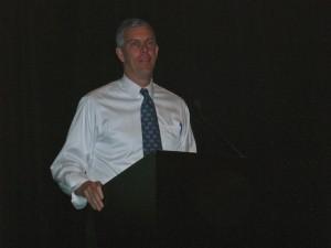 U.S. Education Secretary Arne Duncan in Atlanta Monday (Photo: Maria Saporta)