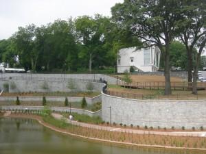 Historic Fourth Ward Park - the lake that can handle a 100-year flood (Photo: Maria Saporta)