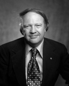 """Photo of James Dickey, native of Atlanta, former U.S. poet laureate and author of """"Deliverance."""""""