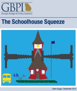Georgia's funding of K-12 education raises questions about its ability to provide a trained workforce, according to a new report from the Georgia Budget and Policy Institute. Credit: GBPI