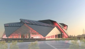 Georgia Tech students have recommended a number of measures intended to benefit neighbors of the future Falcons stadium, which is now projected to cost $1.2 billion to construct, a 20 percent increase over previous estimates. Credit: newstadium.atlantafalcons.com