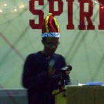 Photo of VOX homecoming king Mahmood Thompson, who wrote about Asperger's Syndrome.