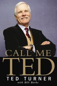 Ted Turner — as portrayed on the front of his autobiography
