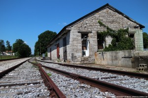 W&A Railroad Depot in Whitfield County