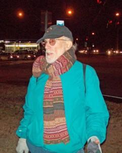 Photo of Brian Sherman, longtime activist.