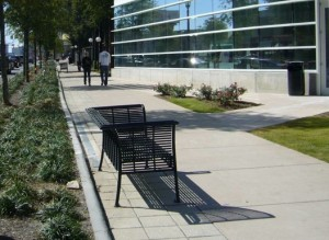 The Buckhead CID has precise ideas for the mix of plants, ground cover along Peachtree Road. Credit: constantcontact.com