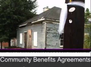 "A video released late Thursday intends to raise awareness of the need for a binding agreement to restore the neighborhoods. Credit: ""Making the Case for Vine City and English Avenue"""