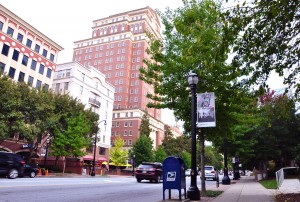 Midtown has become an eminently walkable community, according to urbanist Chris Leinberger. Credit: Donita Pendered