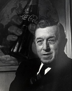 Coca-Cola chairman Robert Woodruff played a key role in the growth of the CDC.